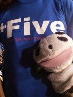 +five